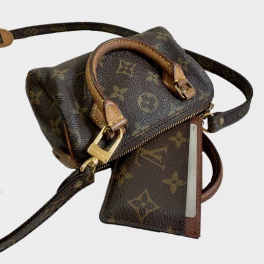 【ルイ・ヴィトン】ミニバッグが買い! 小さいのに主役級で便利♡