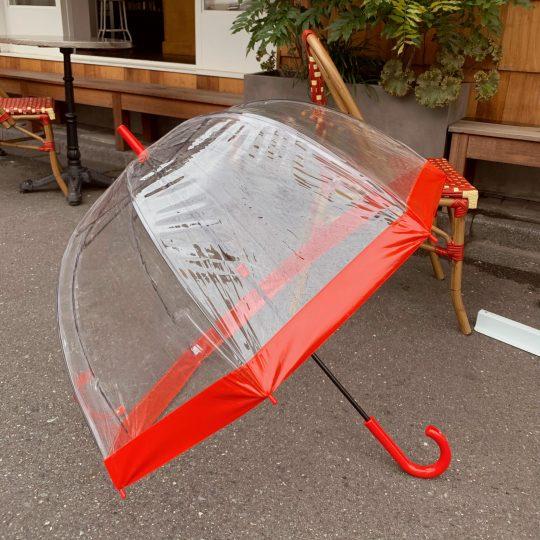 【雨の日】いいことしかないビニール傘発見! オシャレな一本で晴れ気分