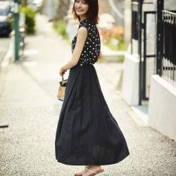 悩める高身長女子必見! 照れずに着られる夏マキシスカート5選