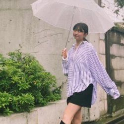 【ZARAほか】雨の日はフェイクレザーでオシャレ見えが叶う!