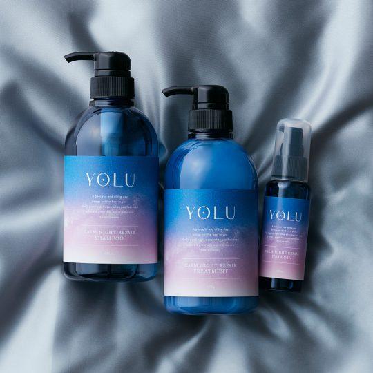 寝ている間にうるツヤ髪に!新ブランド「YOLU」のヘアケアセットを3名様にプレゼント。