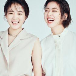 フジ永尾&杉原アナが「カッコいい女性」に大変身! 撮影の裏側を明かす